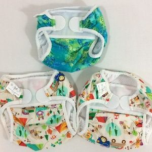 Other - Baby swim diaper cover mesh lined M L set